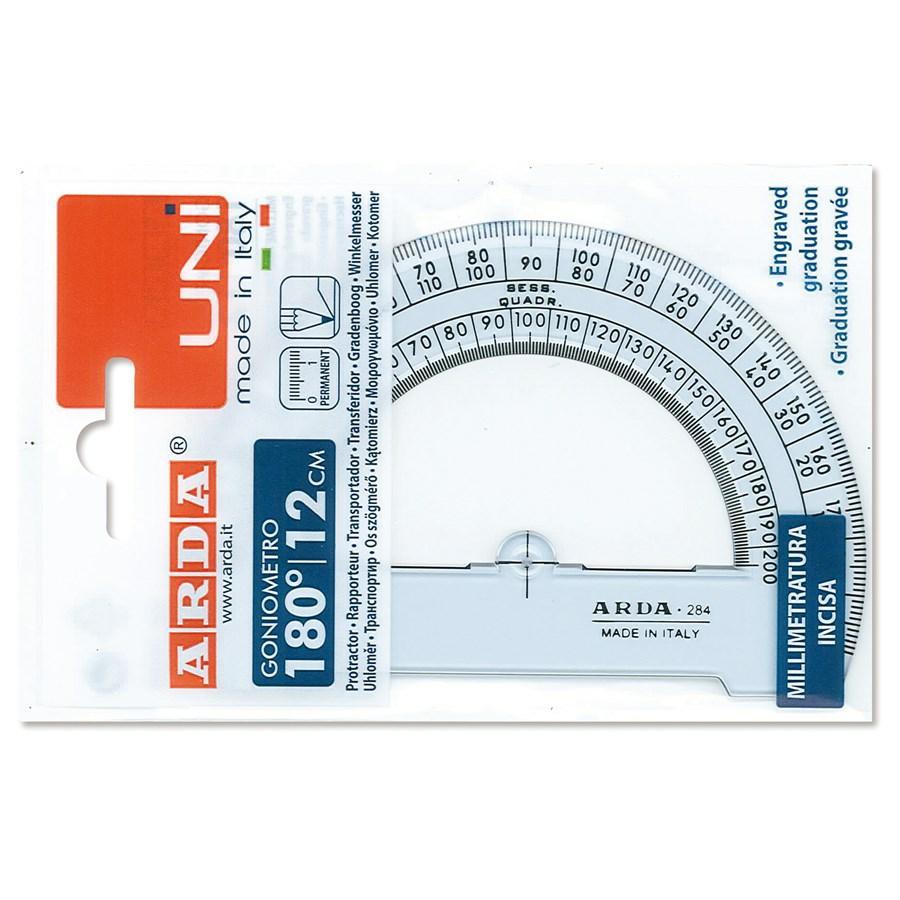 Goniometro cm10 180^ con decimetro ARCHITETTO