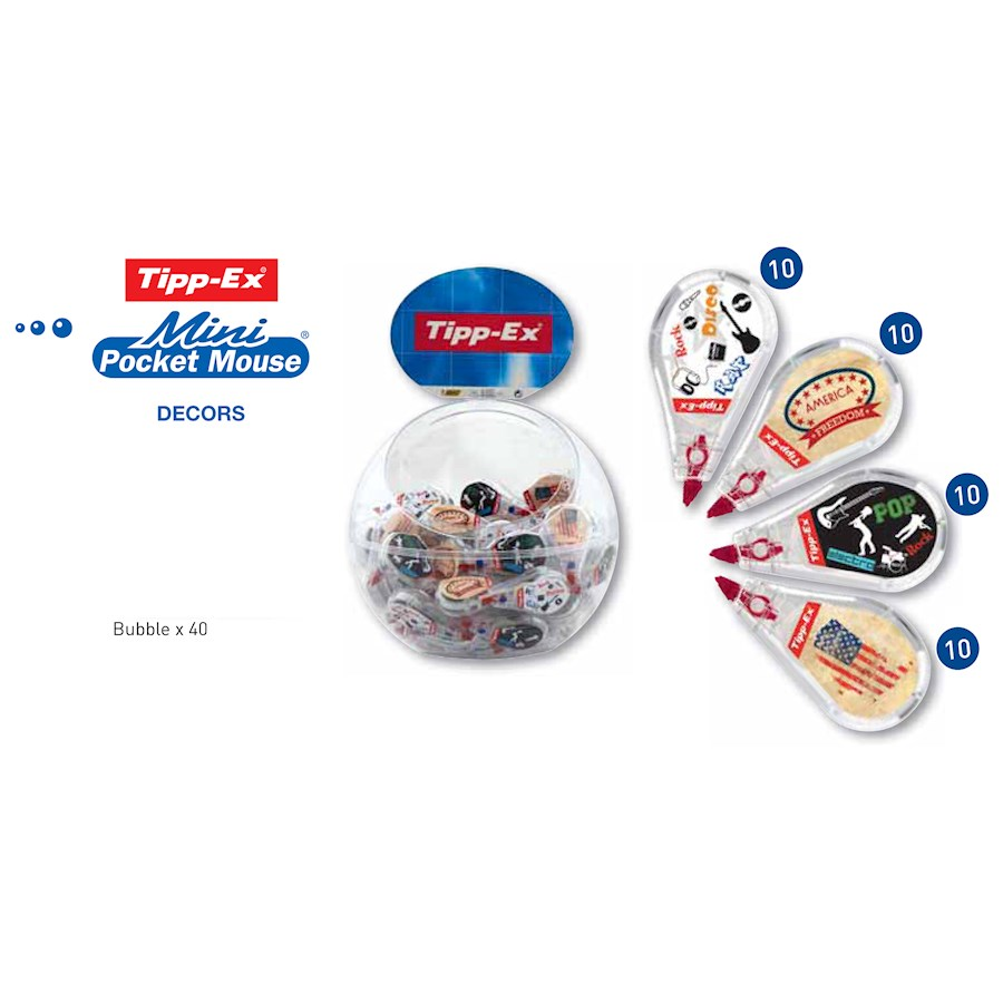 MINI POCKET MOUSE DECORS