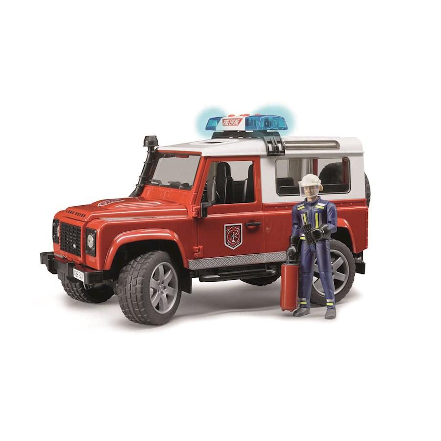 Land Rover Defender Vigili del fuoco con pompiere