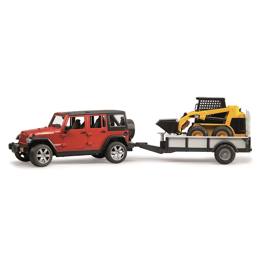 Jeep Wrangler c/rimorchio eCAT