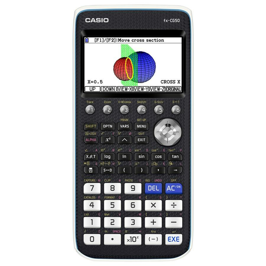 CALCOLATRICE CASIO FX-CG50 GRAFICA