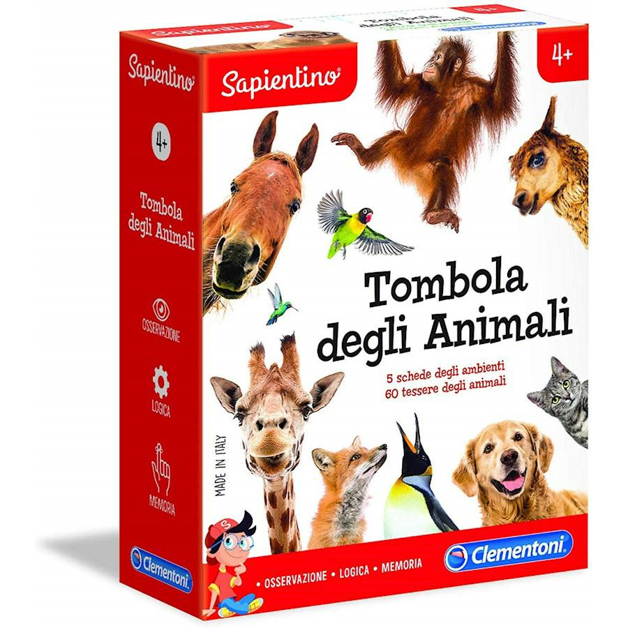 TOMBOLA DEGLI ANIMALI CLEMENTONI