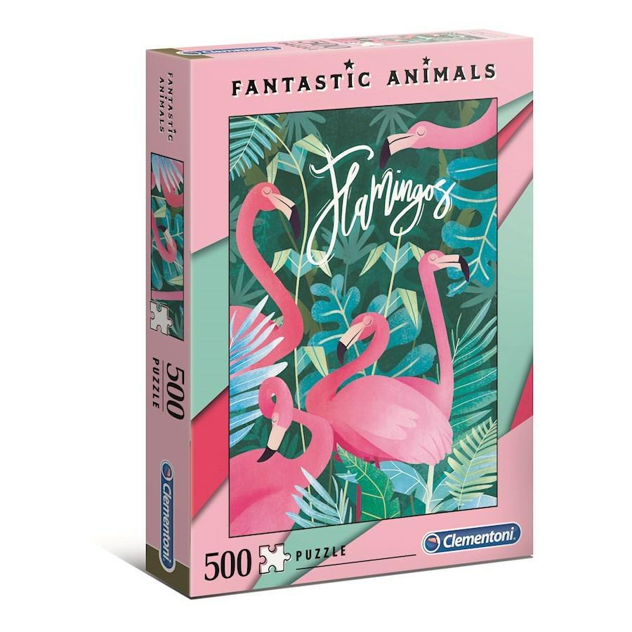 FANTASTIC ANIMALS PZ.500 CLEMENTONI