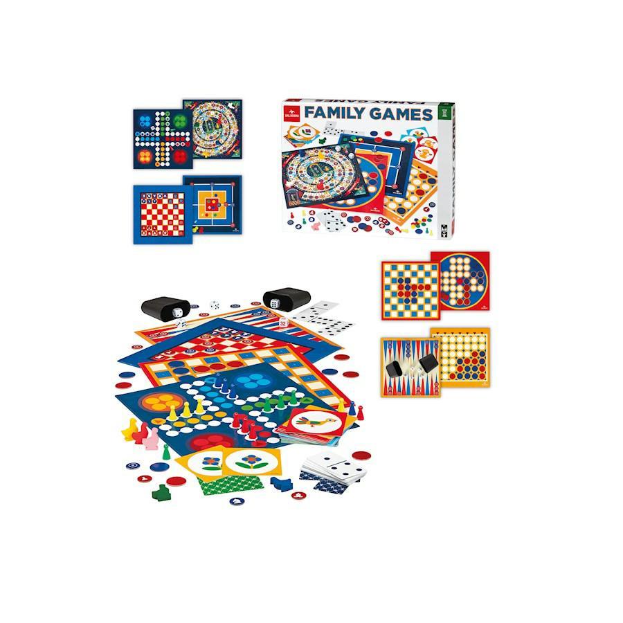 FAMILY GAMES 50 GIOGHI DAL NEGRO