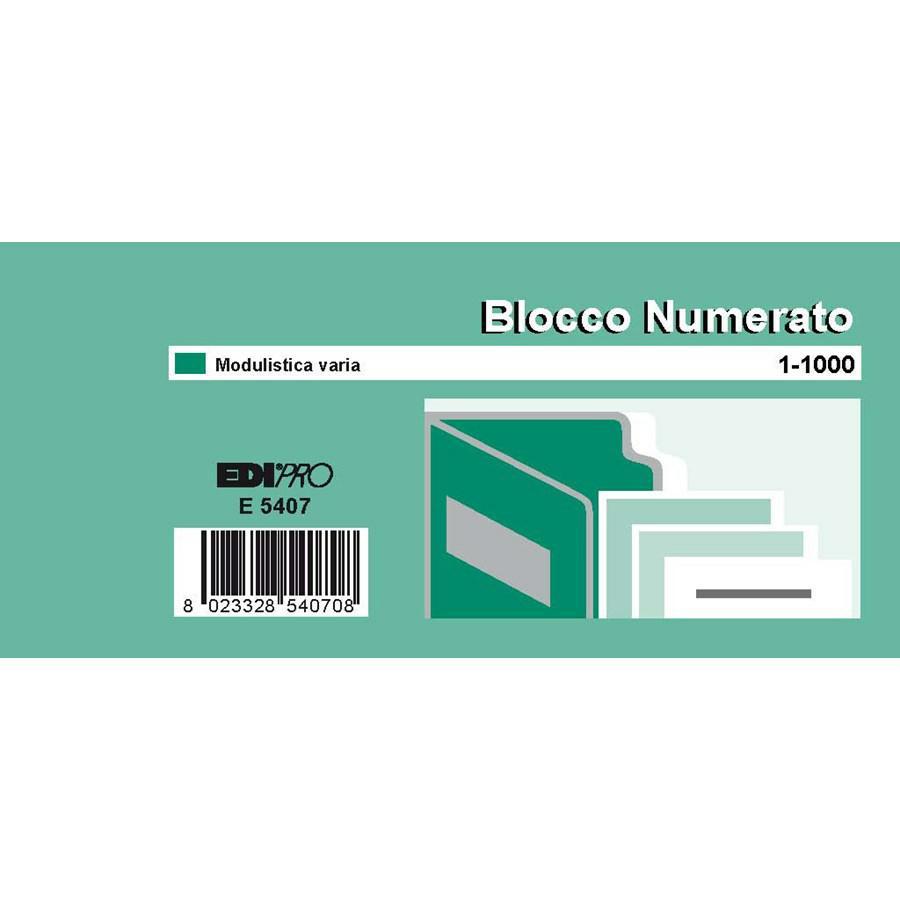 BLOCCO NUMERATO 1/1000