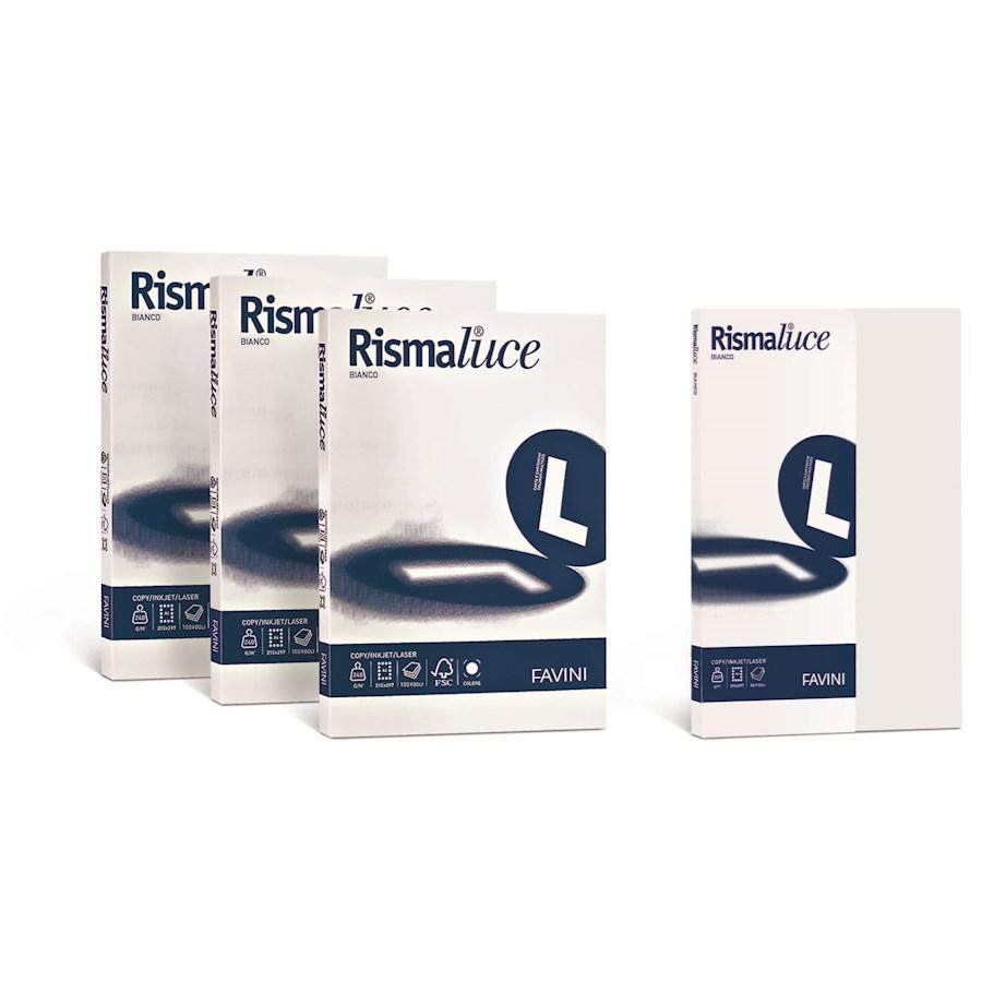 RISMALUCE A4 Bianca gr100 gr120 gr140 gr200