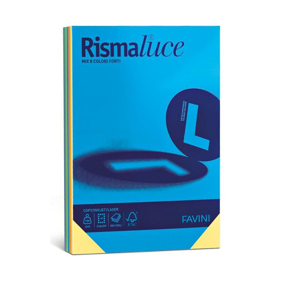 RISMALUCE A3 PROMO 6/8COLORI GR90 GR140 GR200