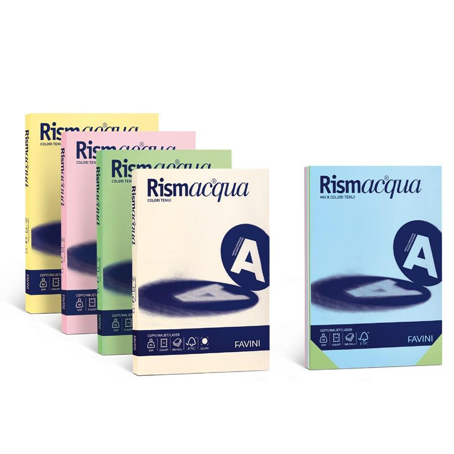 RISMACQUA A3 PROMO 5 COLORI GR90 GR140 GR200