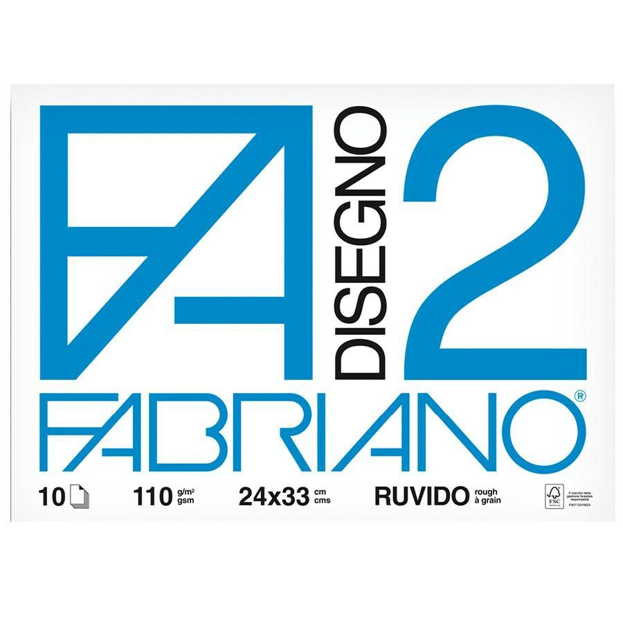 Album disegno F2 cm24x33 f10 FABRIANO