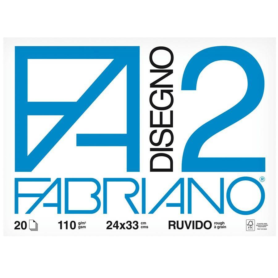 Blocco disegno F2 cm24x33 f20 FABRIANO