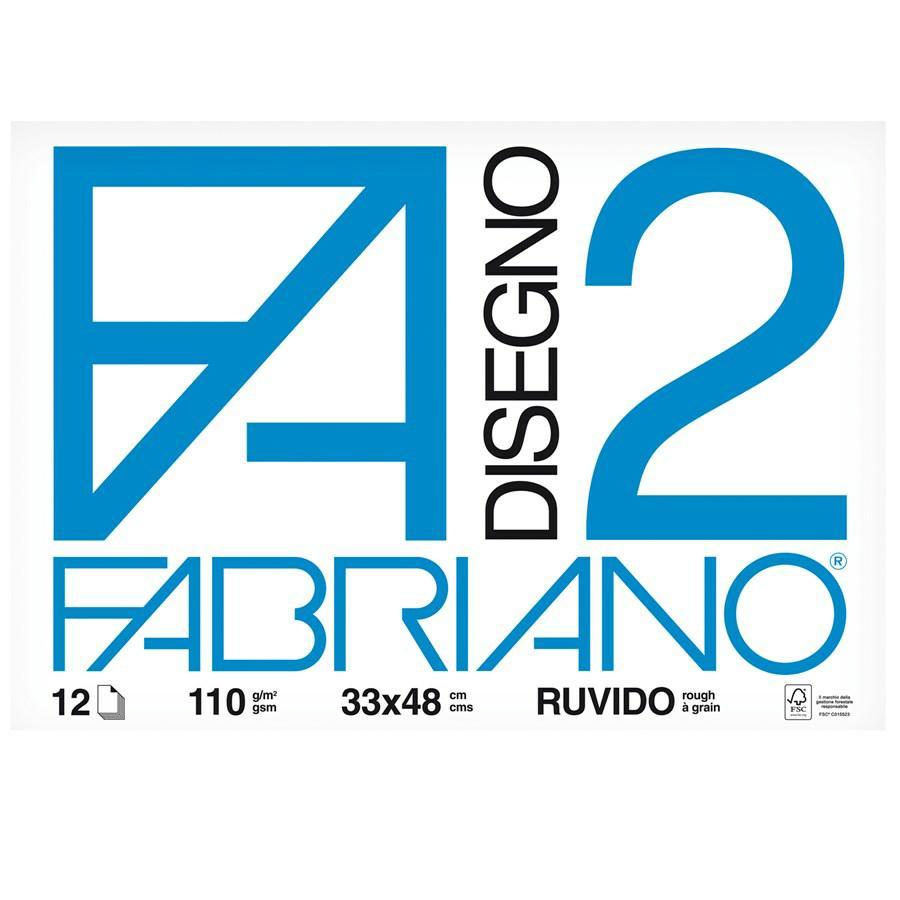 Blocco disegno F2 33X48 F10 FABRIANO