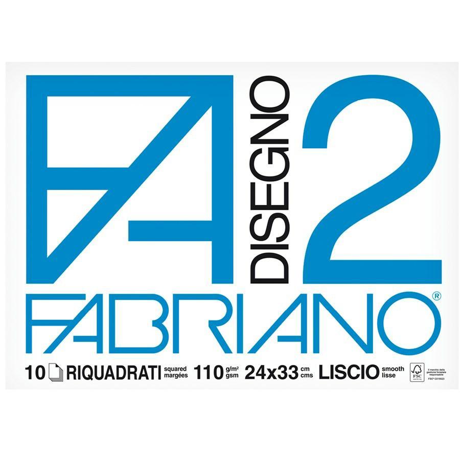 FABRIANO Album F2 24x33 Squadrato f10