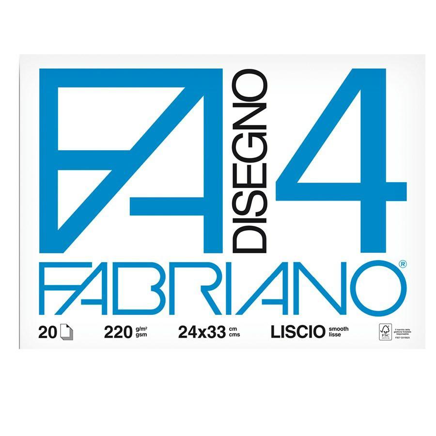 Blocco disegno F4 cm24x33 ff20 FABRIANO