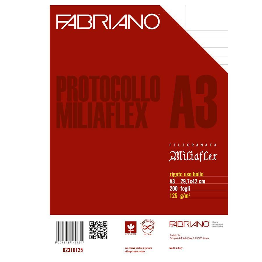 Fogli PROTOCOLLO GR125 NOTARILE F200