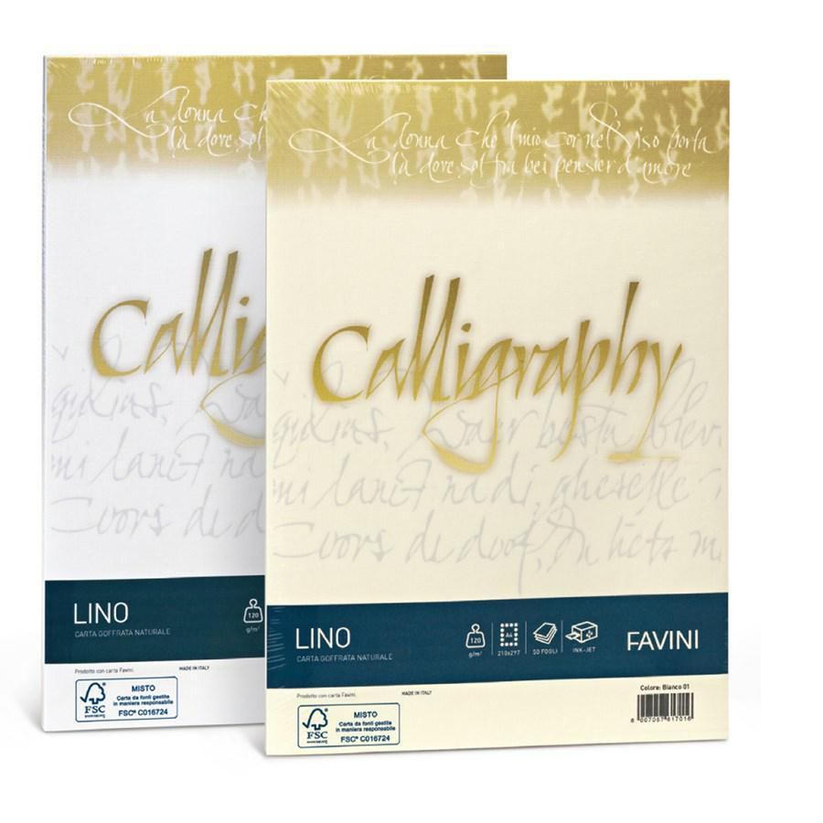 Carta Calligraphy LINO gr200 A4 f50