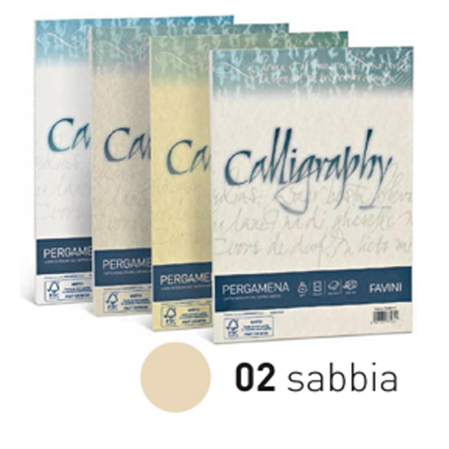 CARTA CALLIGRAPHY PERGAMENA GR190 A4 F50