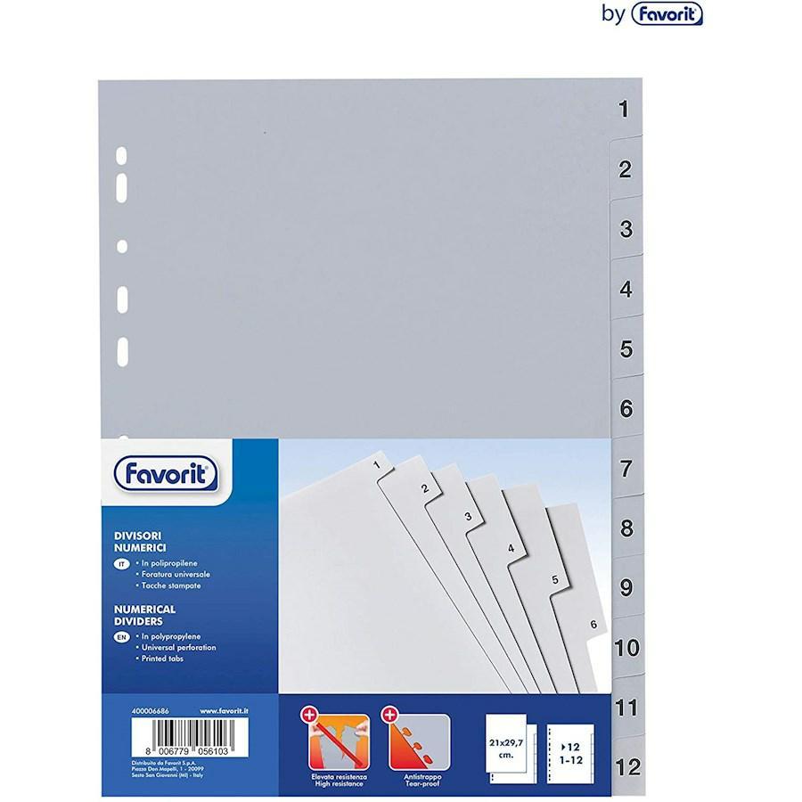 INTERCALARE 1-12 Mese cm22x30 (6160) SEPAREX