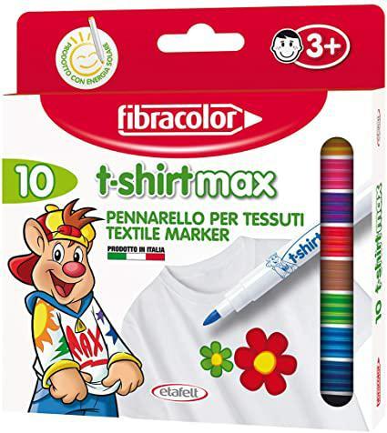 FIBRACOLOR T-SHIRT MAX PUNTA PENNELLO