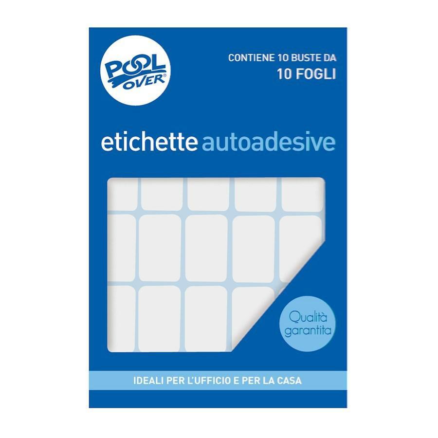 Fogli Etichette BIANCHE f10