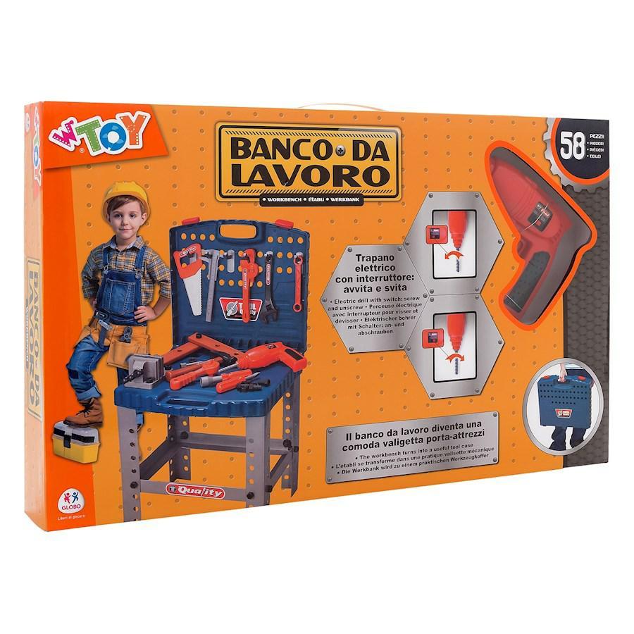 BANCO LAVORO/VALIGETTA CON TRAPANO B/O