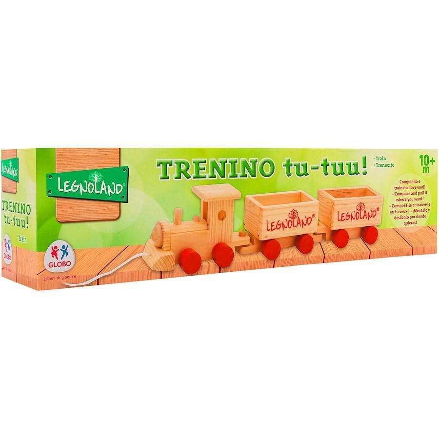 TRENINO LEGNO TRAINABILE