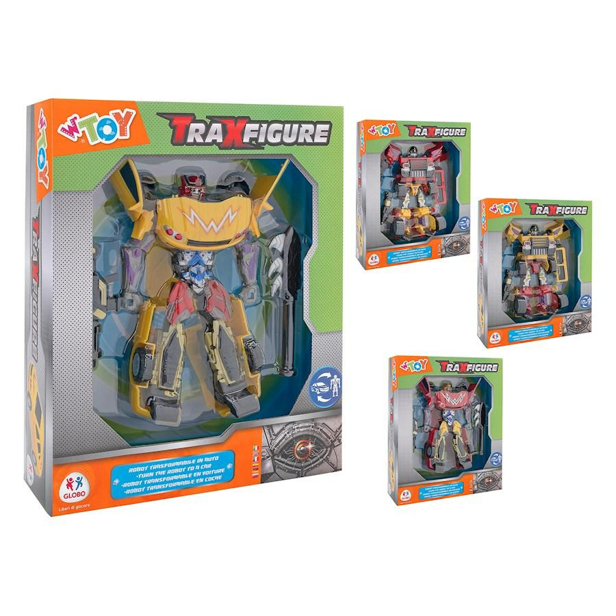 TRAXFIGURE ROBOT>VEICOLO 2 MOD. 2 COL.