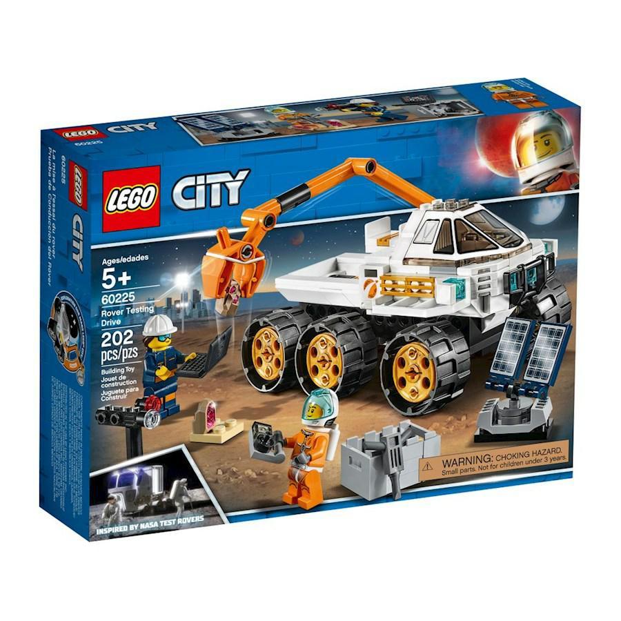 City-prove di guida del rover