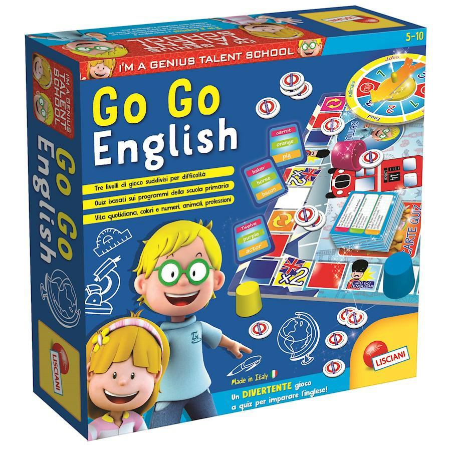 PICCOLO GENIO TS GO-GO ENGLISH!
