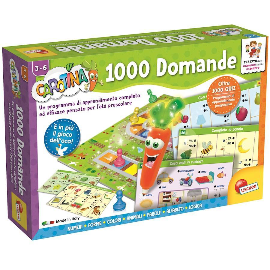 CAROTINA PENNA PARLANTE 1000 DOMANDE