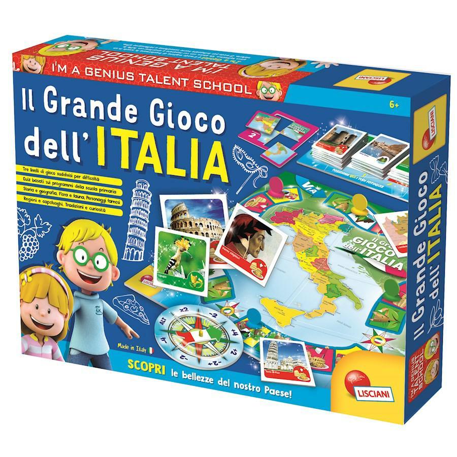 I'M A GENIUS IL GRANDE GIOCO DELL'ITALIA