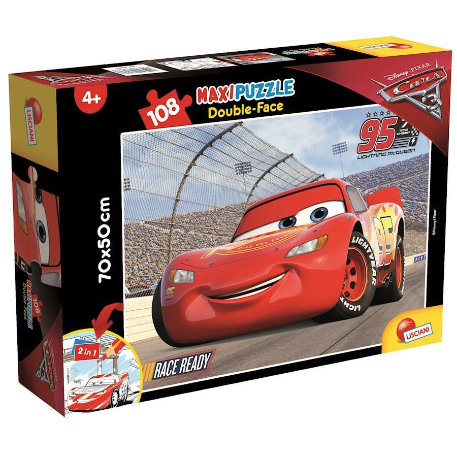 PUZZLE SUPERMAXI 108 CARS 3 DOUBLE FACE