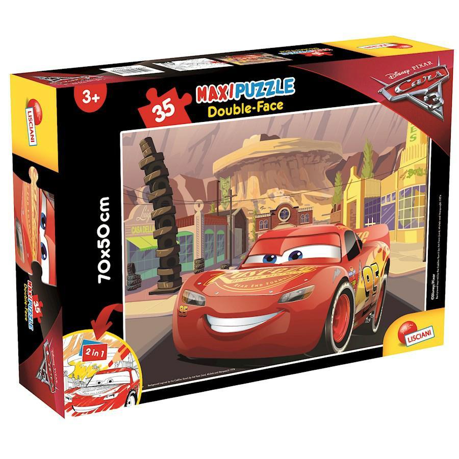 PUZZLE SUPERMAXI 35 CARS GO!GO!GO! DOUBLE FACE