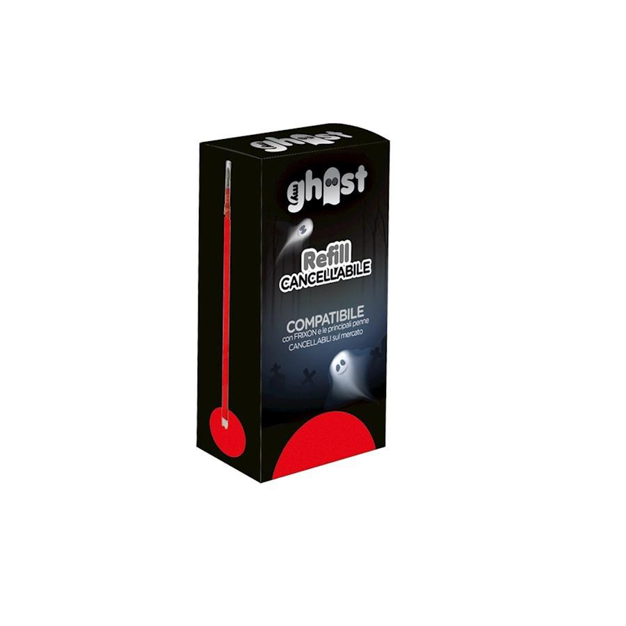 SET 3 REFILL GHOST ROSSO