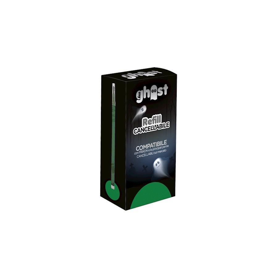 SET 3 REFILL GHOST VERDE