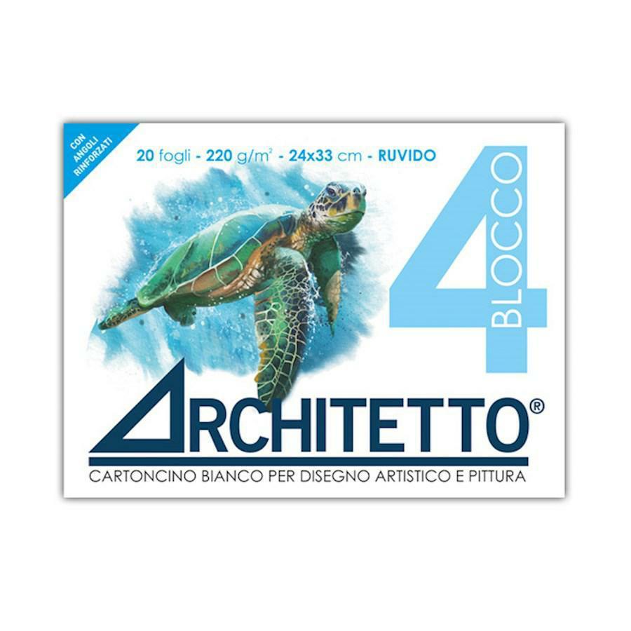 Blocco disegno tipo F4 RUVIDO 24x33 ARCHITETTO(Art4p)