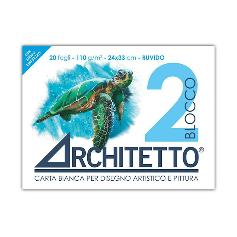 Blocco disegno tipo F2 RUVIDO 24x33 ARCHITETTO(ART2P)