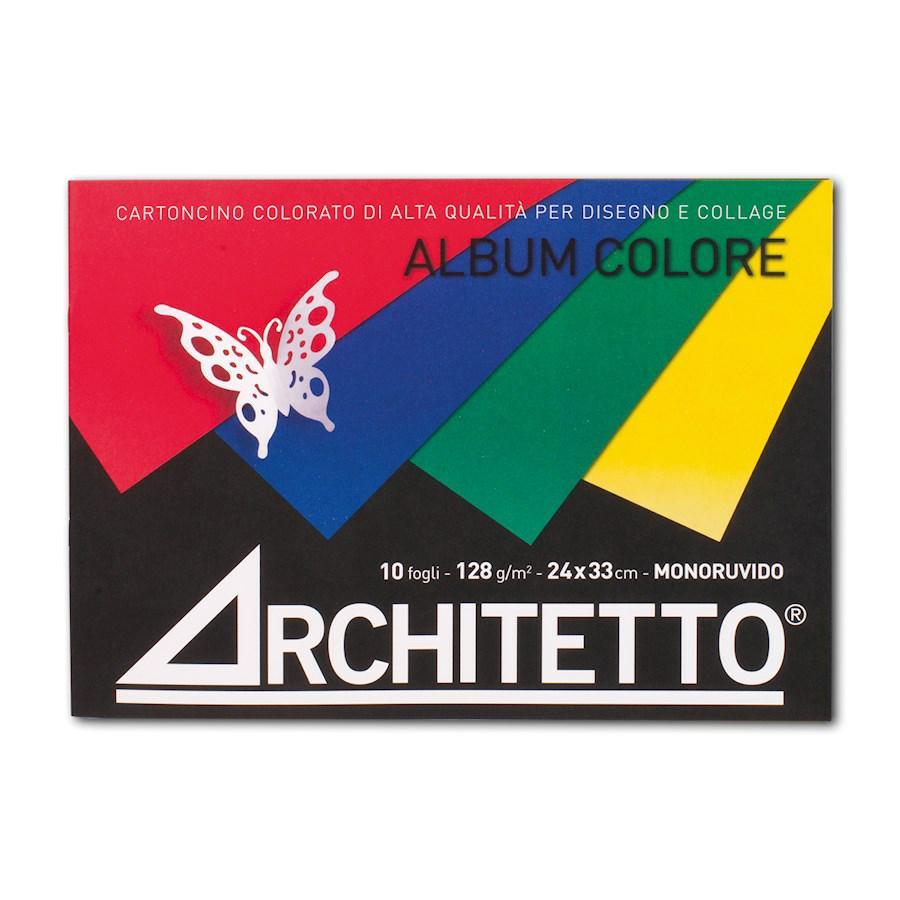 Album Cartoncino colorato cm24x33 ARCHITETTO