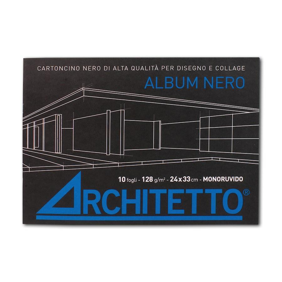 Album Nero cm24x33 f10 ARCHITETTO