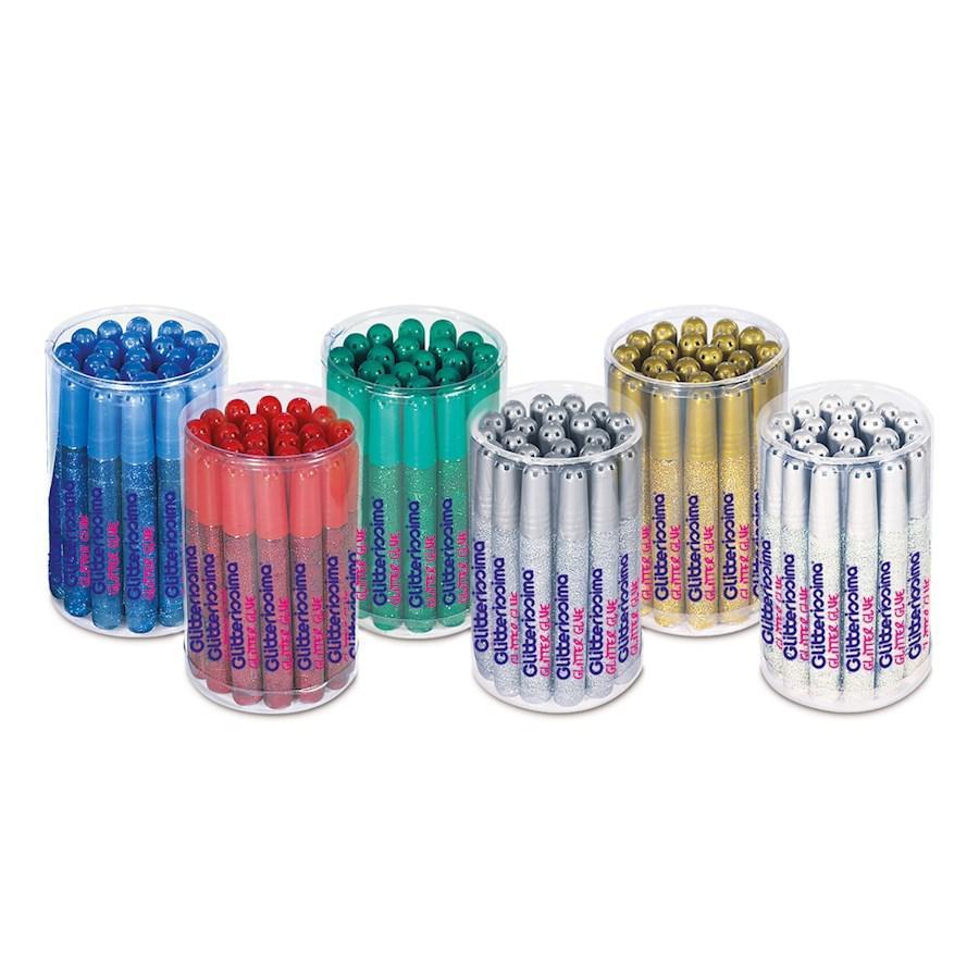 Colla GLITTER Verde ml10,5(Barattolo)