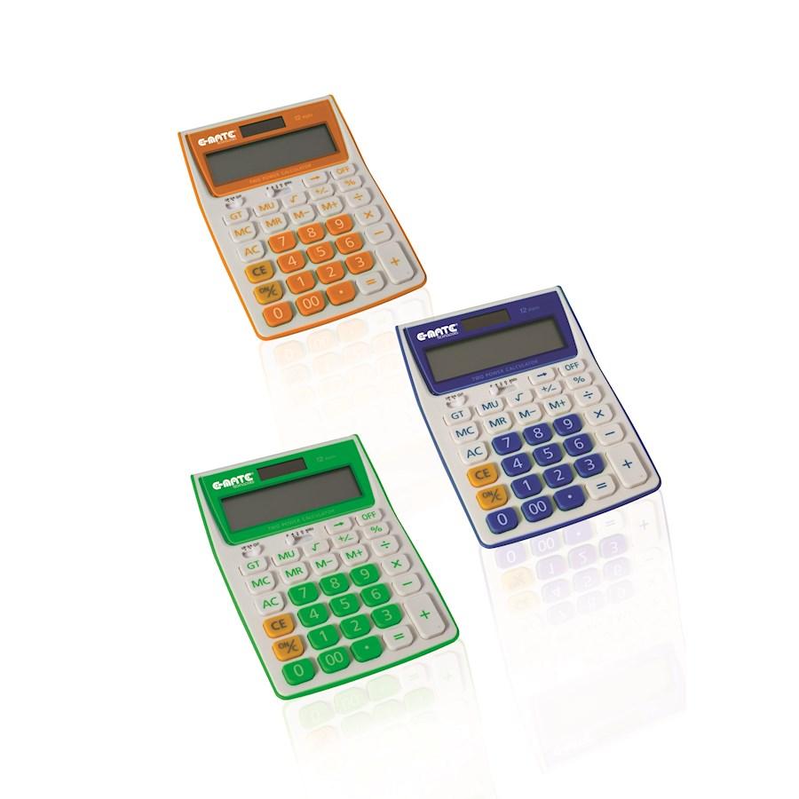 Calcolatrice Tavolo Colorata SW2236A 105X145X30 EMATE 2719