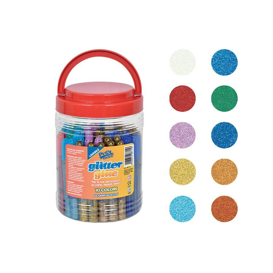 Colla GLITTER Assortita ml10,5