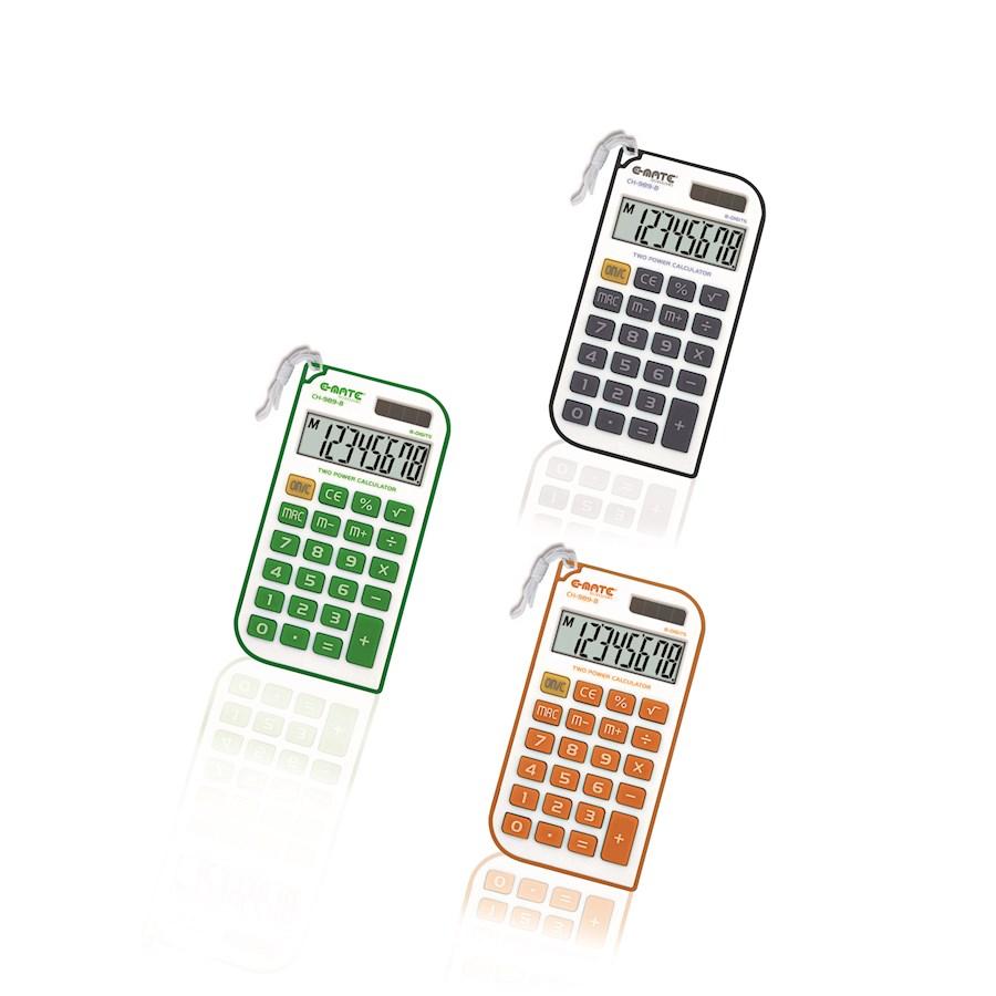 Calcolatrice Tascabile Con LACCETTO  SH240 60X95X8 CH989 NEW