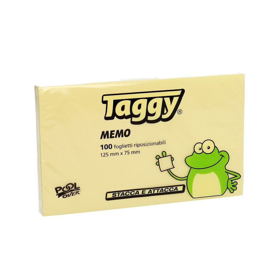 POST-IT 75X125 TAGGY GIALLO 100FF