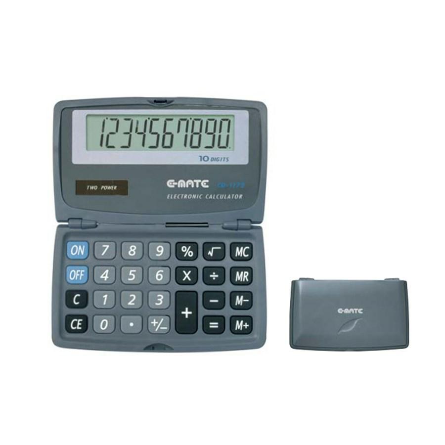 Calcolatrice 10 cifre CD 1172 110X65X10 CHIUSA EMATE