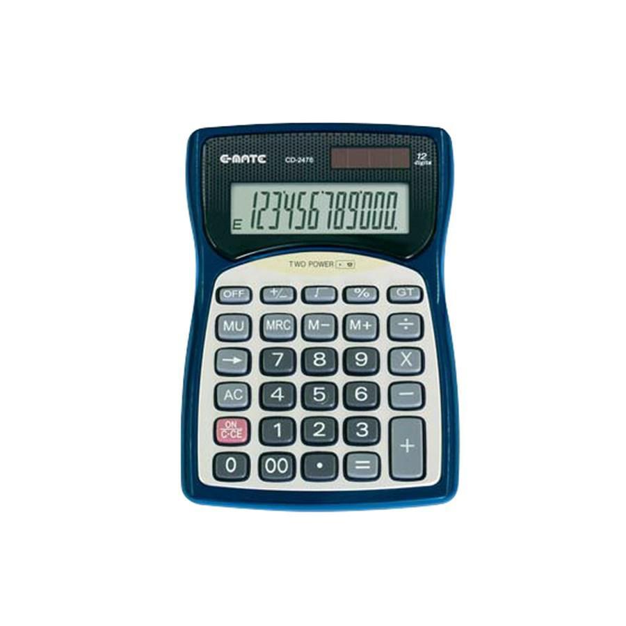 Calcolatrice 12 cifre da Tavolo CD2476 80X120X16 EMATE