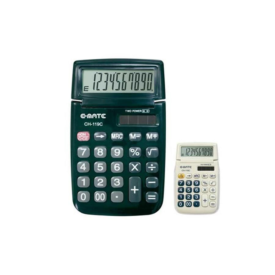 Calcolatrice 10 cifre CH 119C 70X115X8 EMATE