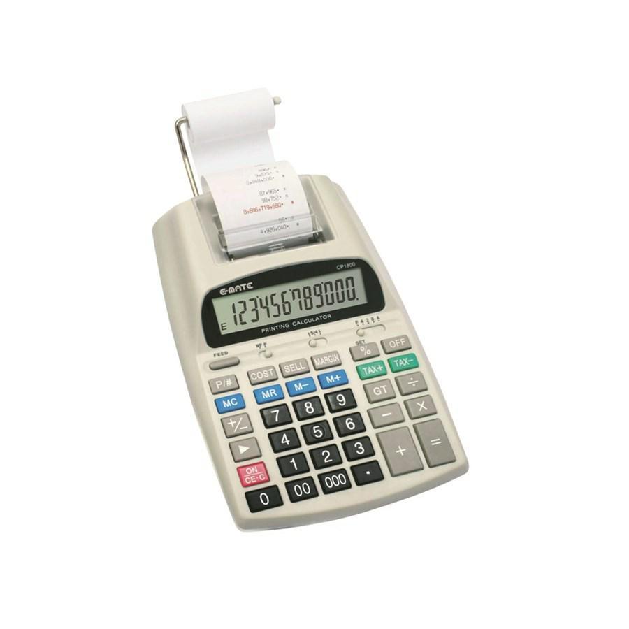 Calcolatrice 12 Cifre Scrivente CP1800 EMATE