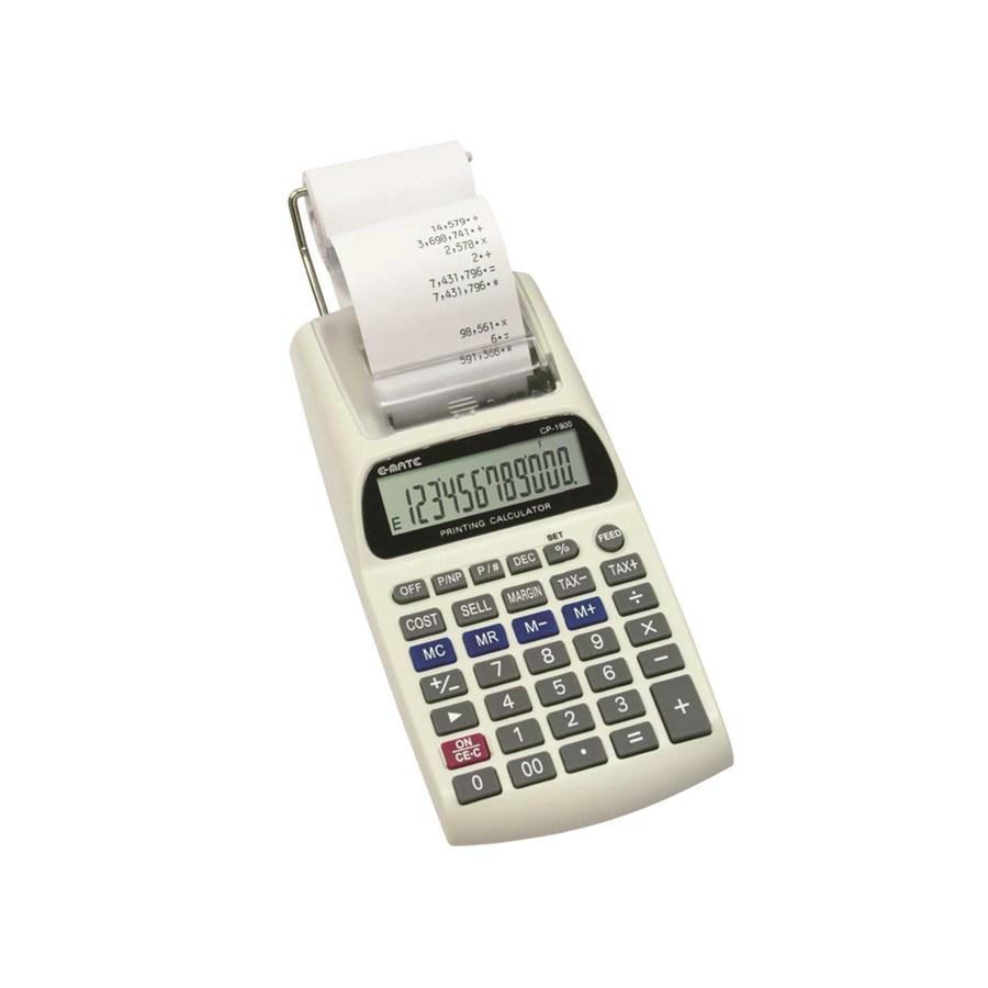 Calcolatrice 12 Cifre Scrivente CP1900 EMATE