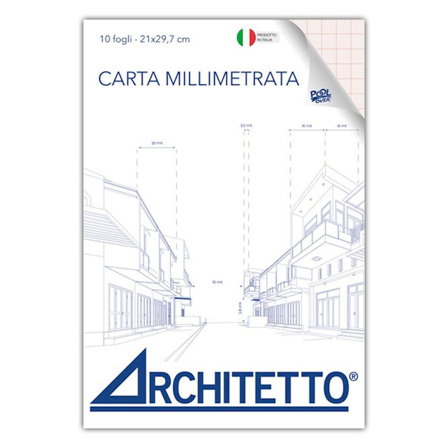 Millimetrata Blocco A3 f10 ARCHITETTO