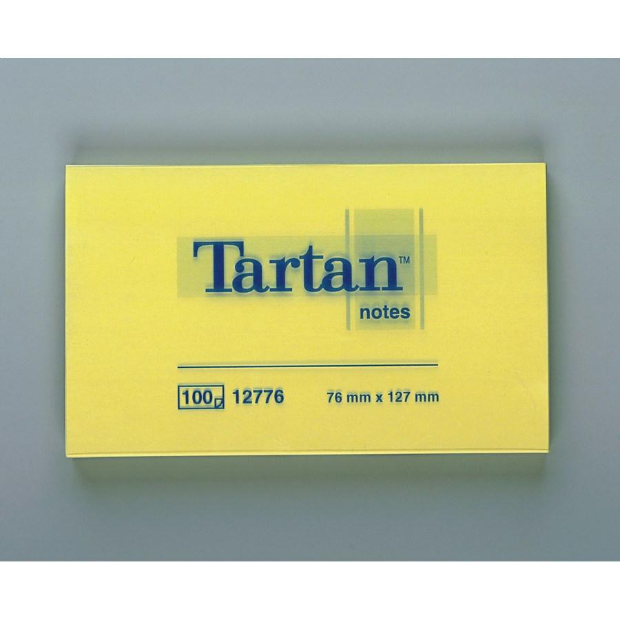 POST-IT TARTAN GIALLO MM127X76